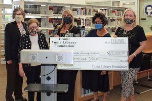 $20,000 Donation Check