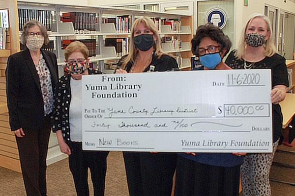 $40,000 Donation Check
